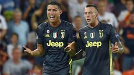 Las lágrimas de Cristiano Ronaldo amargaron la victoria de la Juventus