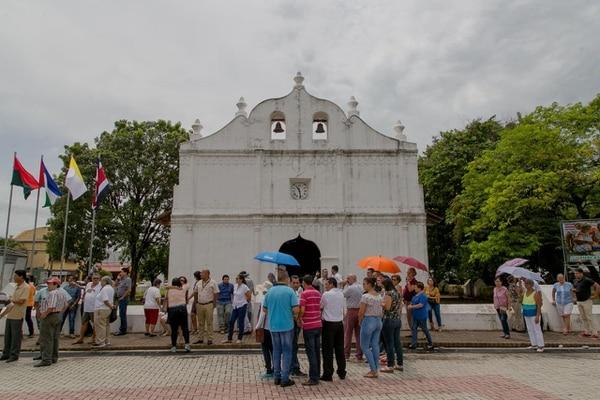 Iglesia San Blas, en Nicoya.