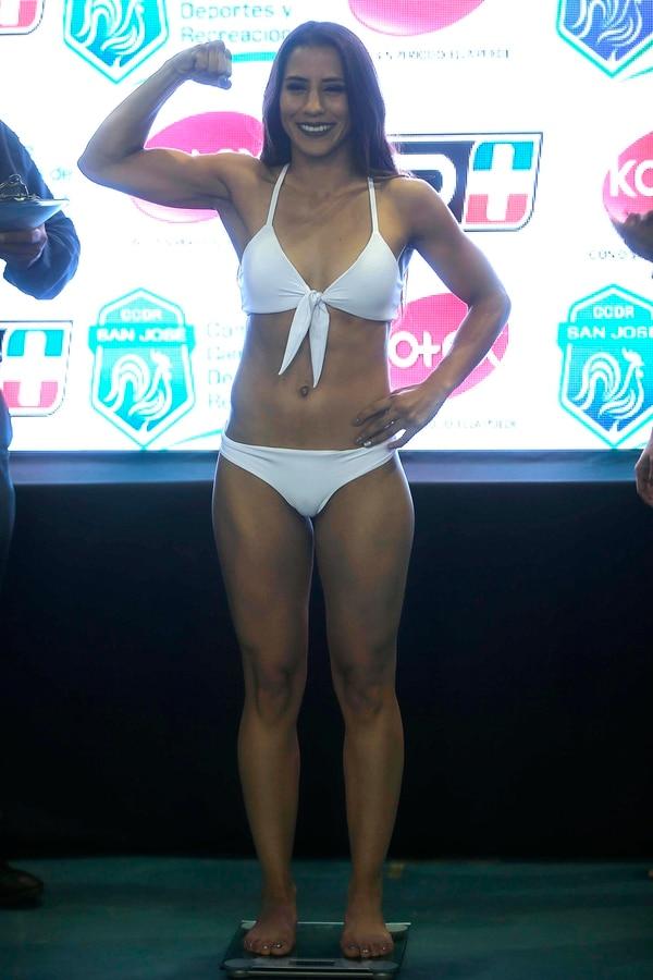 Yoka deslumbra en la pista o en el ring. Foto: Rafael Pacheco