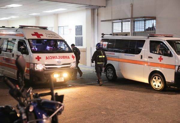 El bus llegó a emergencias del Hospital San Juan de Dios. Foto con fines ilustrativos.