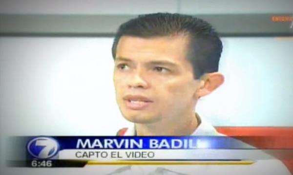 Don Marvin estuvo en Telenoticias en el 2007 hablando sobre su experiencia. Foto: Cortesía.