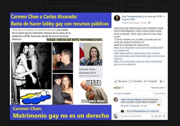 Las imágenes han sido denunciadas, pero alguien vuelve a subirlas: Foto: Facebook