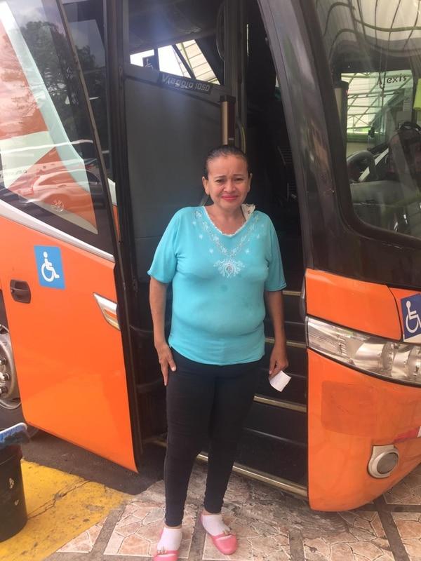 Luz Marina Molinares fue a prisión porque su hermano le puso una pensión por su hijo, que voluntariamente se fue a vivir con él. Foto: Gerardo Zamora.