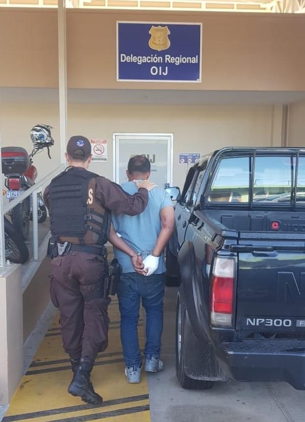 La Policía de Fronteras detuvo al recluso dos días después de la primera fuga. Foto: MSP.