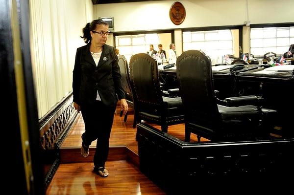 Ligia Fallas es la principal opositora al protocolo y el formalismo. Foto: Melissa Fernández.