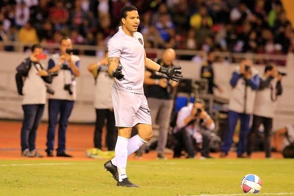 Lo único que jugó Esteban con la Liga fue la cuadrangular 90 minutos por la vida el 6 de enero. Foto: Rafael Pacheco