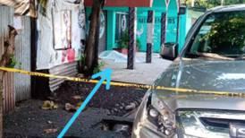 Matan de un balazo en la cara a hombre que dormía en la calle en Puntarenas