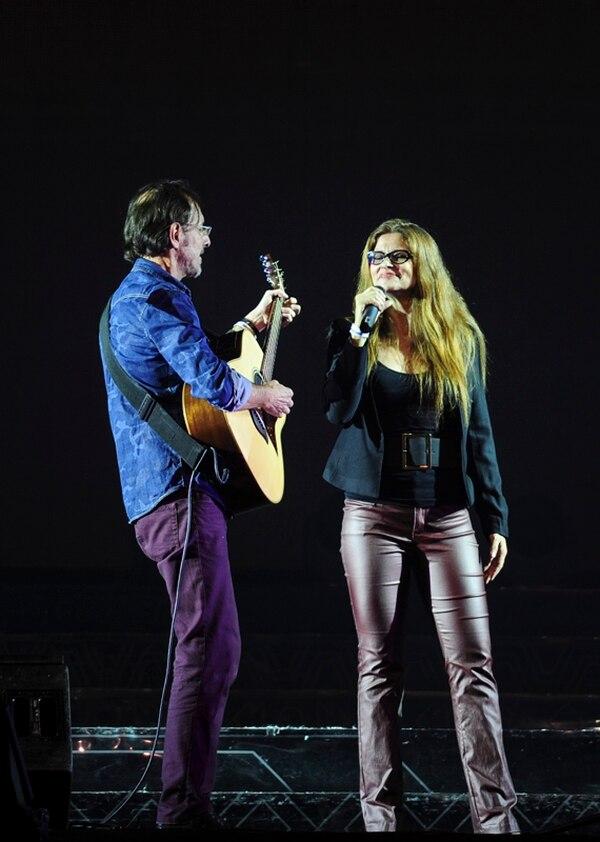 Bernal Villegas y Marta Fonseca siguen cantando juntos, pero no con tanta frecuencia como en sus inicios. Foto: Gabriela Tellez