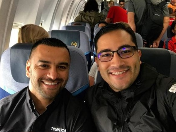 Felipe y Miguel también andan con la misma ropa con la que se fueron el lunes. Instragram