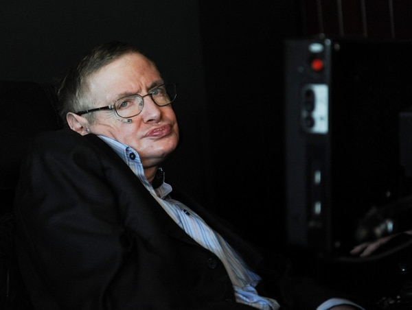 Stephen Hawking murió el 14 de marzo del 2018. AP