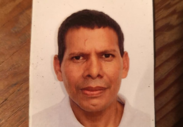 Wilber Aparicio Gonzalez de 51 años. Foto: Cortesía de la familia