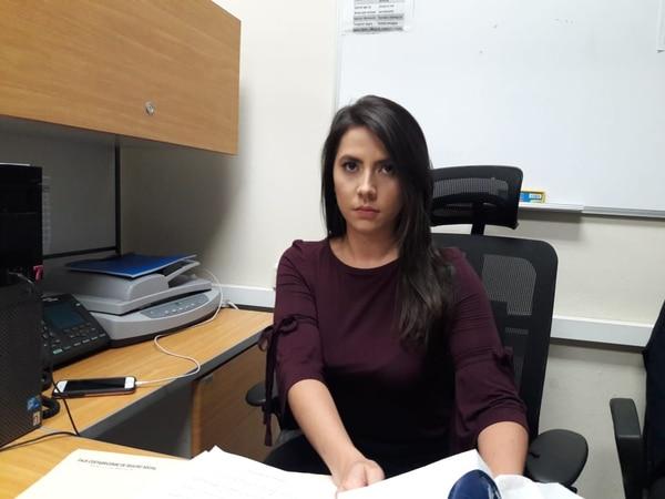 Desde setiembre del 2017, Joselyn deposita religiosamente 62.500 colones a la cuenta personal de la hermana de Abelino, ella tiene los comprobantes de depósito. Foto Eduardo Vega Arguijo.