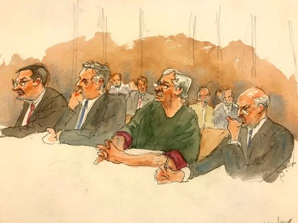 Jeffrey Epstein estaba a la espera del juicio por tráfico sexual de menores. Foto AP