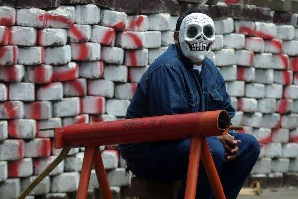 Así se prepara este pueblo indígena para repeler las tropas de la dictadura. Este viernes podría ser sangriento. / AFP PHOTO / MARVIN RECINOS