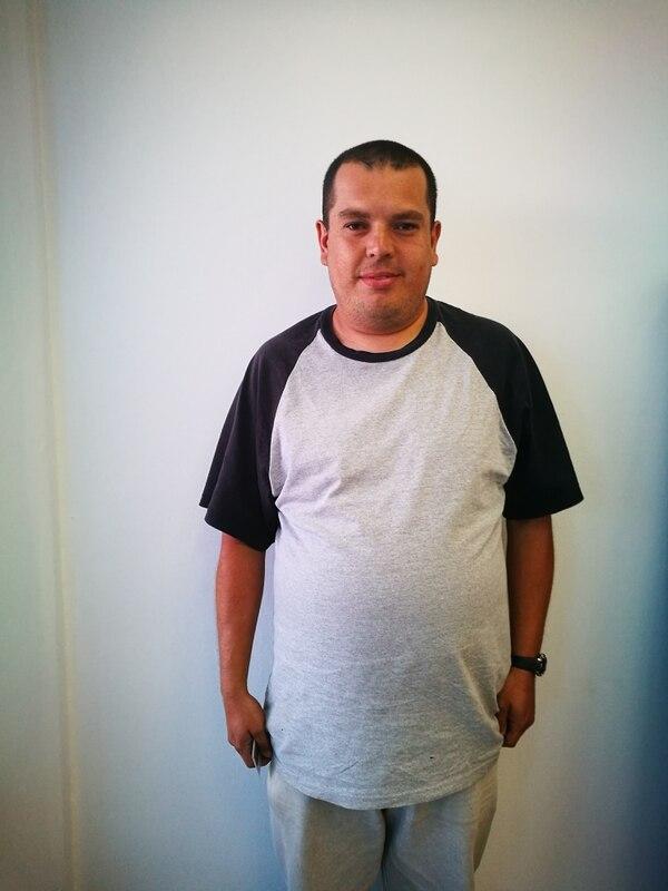 Don Edmundo se pegó cuatro tejitas el pasado viernes 14 de julio. GN SUCURSAL.