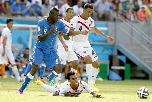 El convencimiento de una idea de juego le permitió a la Sele hacer un partido casi perfecto ante Italia en Brasil 2014. Foto: Archivo/ EFE