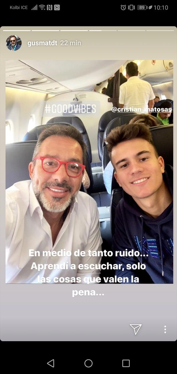Parece que jaló contento Matosas. Foto: Instagram