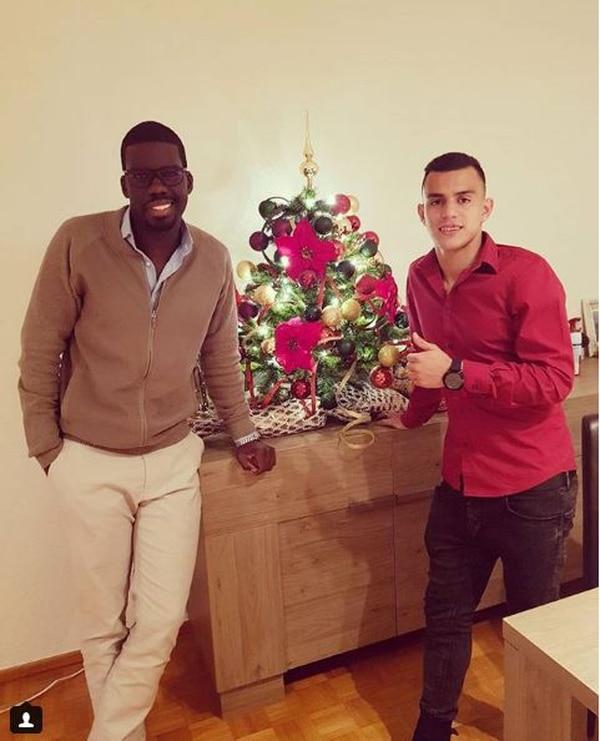 En diciembre, Batica visitó a Rándall Leal en Bélgica. Tomado de www.instagram.com