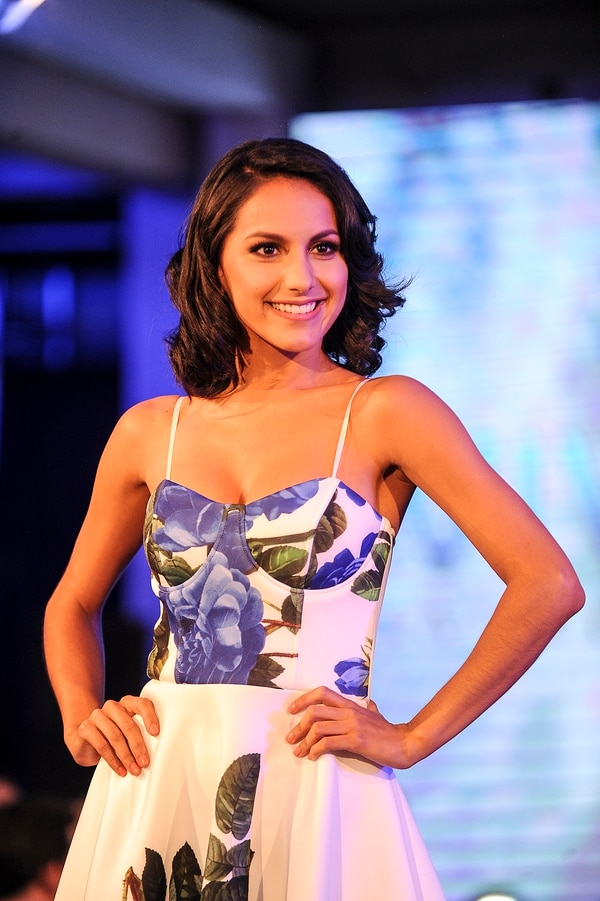 Alejandra González trabaja como modelo de marcas y en el 2016 fue una de las 10 participantes a la corona de Miss Costa Rica. Fotos: Jorge Navarro / Archivo