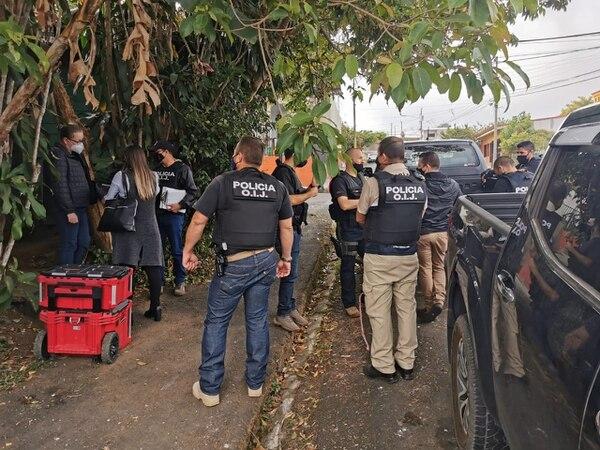 Los abusos habrían sido cometidos en la casa de Ruiz, ubicada en Palmares. Foto OIJ.