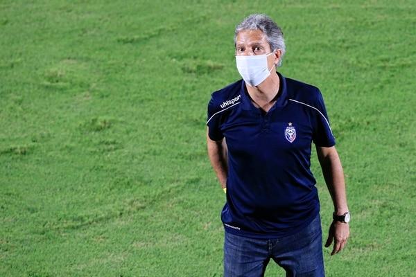 Restrepo salió triste por el resultado. Foto: Rafael Pacheco.