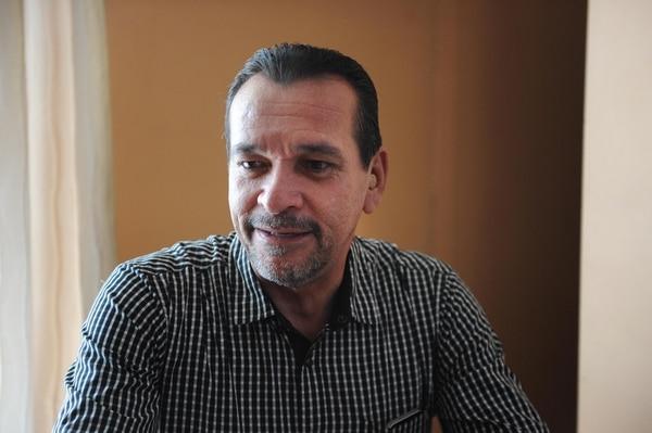El alcalde alajueliteño, Modesto Alpízar, confirma que el Parque Industrial se comenzará a construir en pocas semanas. Archivo.