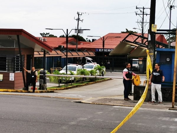 La víctima murió en el hospital de Guápiles. Foto: Reiner Montero/Archivo