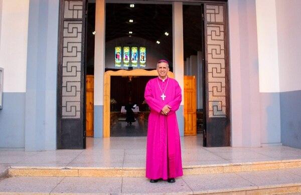 El obispo de Tilarán ofreció disculpas a quienes se sintieron ofendidos con su mensaje. Foto Cortesía de la Diócesis de Tilarán