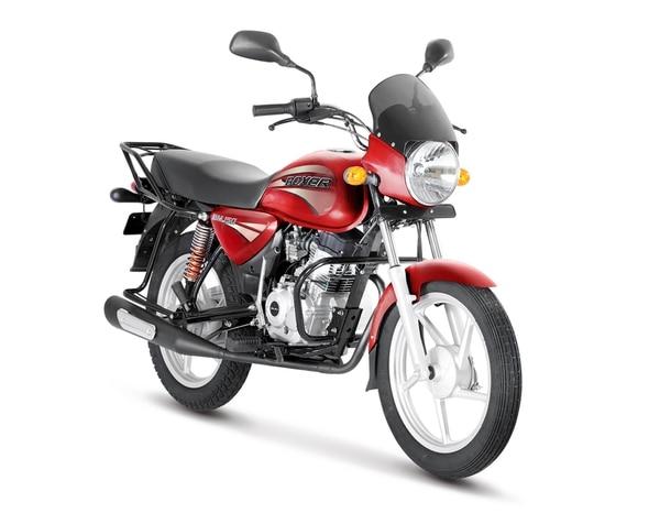 Una moto como esta se llevará a Guápiles doña Ivette. Foto: Cortesía