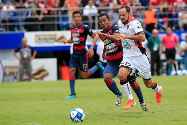 Marco Ureña fue titular y anotó un gol. Rafael Pacheco