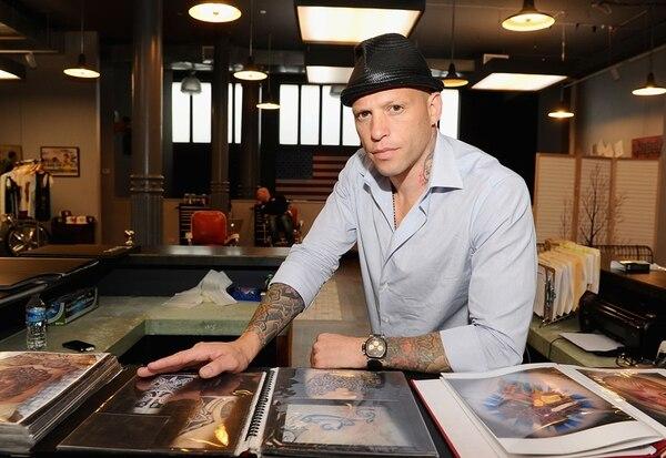Ami James es uno de los tatuadores más famosos de Estados Unidos. Archivo