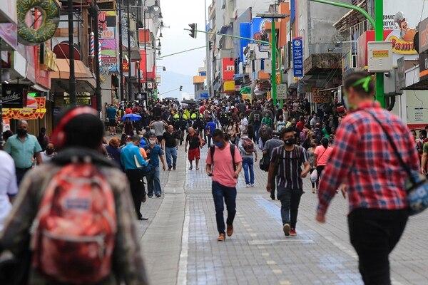 El 1 de junio muchísima gente salió a la calle. Foto: Rafael Pacheco