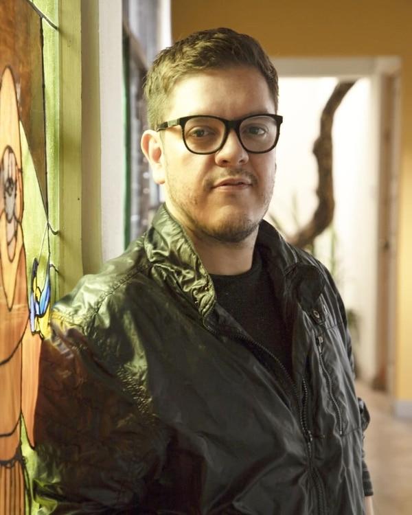 El periodista Olman Castro trabajó para Grupo Nación y Teletica. Cortesía