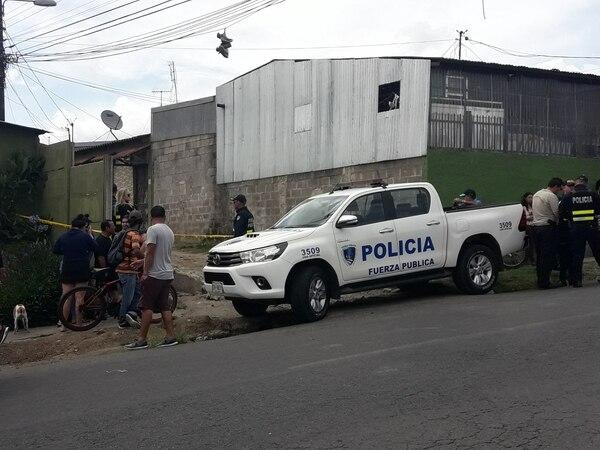 La balacera se dio en el proyecto Manuel de Jesús Jiménez en Cartago. Foto Keyna Calderón / Archivo.