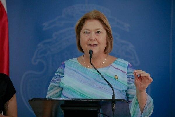 María Revelo, Ministra de Turismo, ya se encuentra reposando en su casa. Foto: Cortesía Roberto Carlos Sánchez