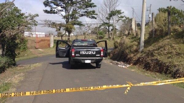 Las autoridades analizan las dos denuncias recientes de desaparición en Cartago. La identidad de la víctima encontrada no ha trascendido. Foto: Rafael Murillo