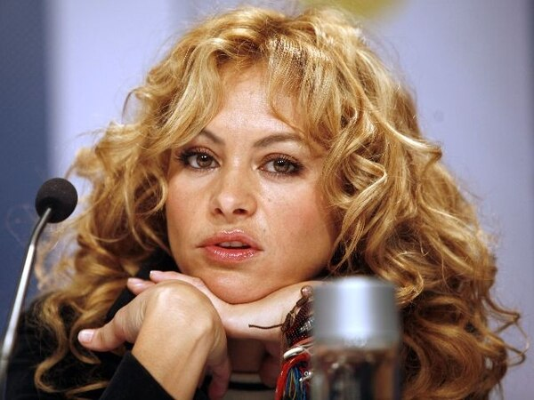 Paulina Rubio of Mexico attends a press conference before the annual Nobel Peace Prize concert in Oslo, Norway Monday Dec. 11, 2006. Bangladeshi economist Muhammad Yunus accepted the Nobel Peace Prize on Sunday, saying he hoped the award would inspire