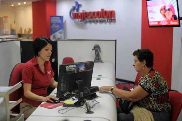 Las agencias de viajes tienen sus ventajas para quienes no tienen tiempo. Foto: Jose Díaz.