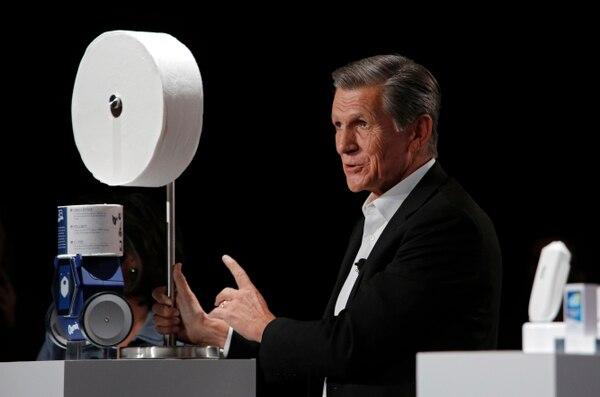 Marc Pritchard, de Procter & Gamble, presentó a esta maravilla. AP