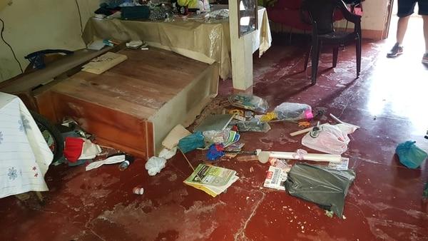 En Laurel de Corredores se cayeron hasta muebles. Foto: Cortesia de Colosal Informa.