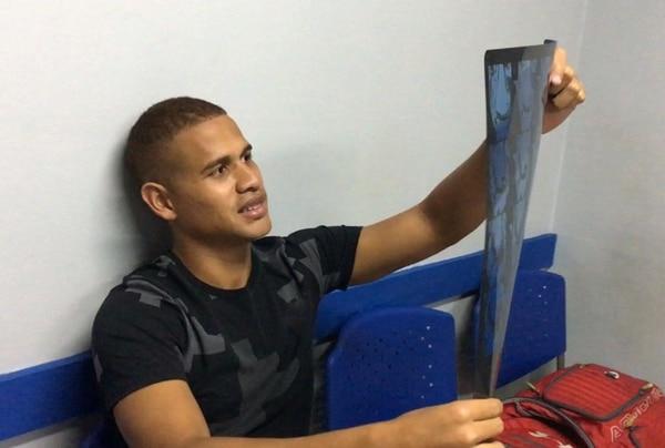 A Chen se le practicó este jueves una resonancia en la rodilla izquierda. Foto: Daniel Sanabria / Prensa Alajuelense