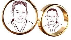 Personajes + Teja: Kenneth y Benjamín, dos hombres muy valientes