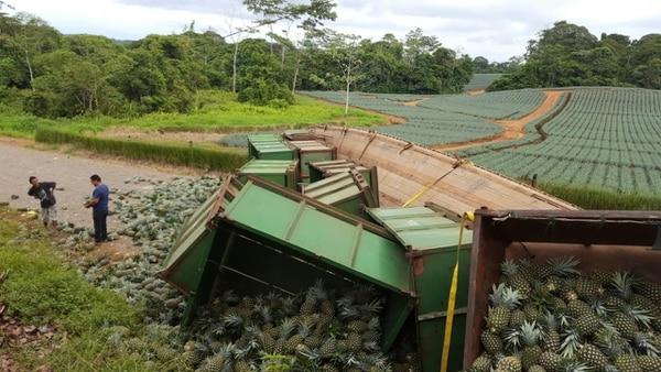 Los daños materiales fueron elevados. Foto: Édgar Chinchilla.