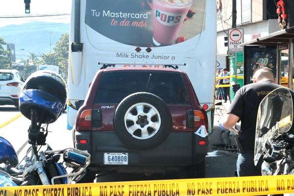 La mujer falleció de inmediato. Foto: Alonso Tenorio