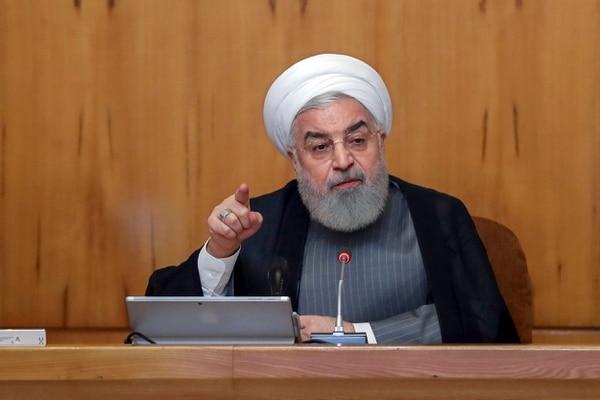 El presidente de Irán Hasan Rohani aseguró que los culpables del error pagaran. Archivo