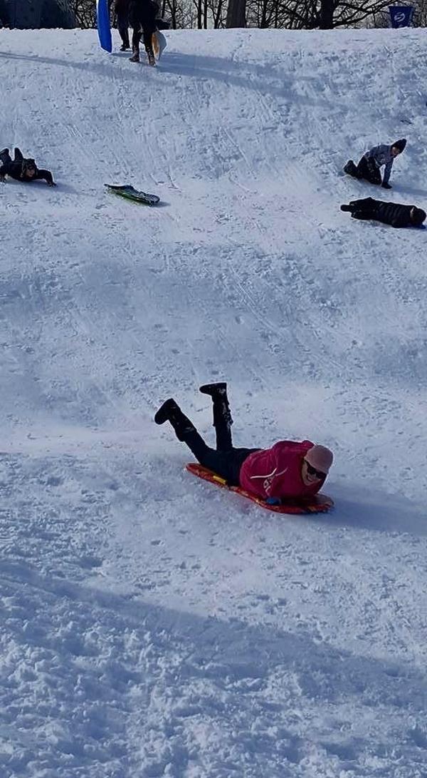 No le tiene miedo ni a chirotear en la nieve, como lo vivió en Estados Unidos. Cortesía.