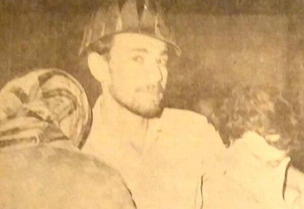 El sobreviviente aseguró que salió por ayuda y prometió volver. Foto: La Nación 1968