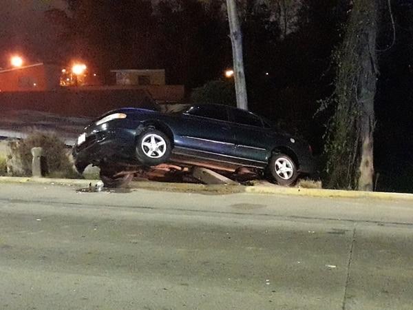 El conductor sospechosos se dio a la fuga después del choque. Fotos de Keyna Calderón / Archivo