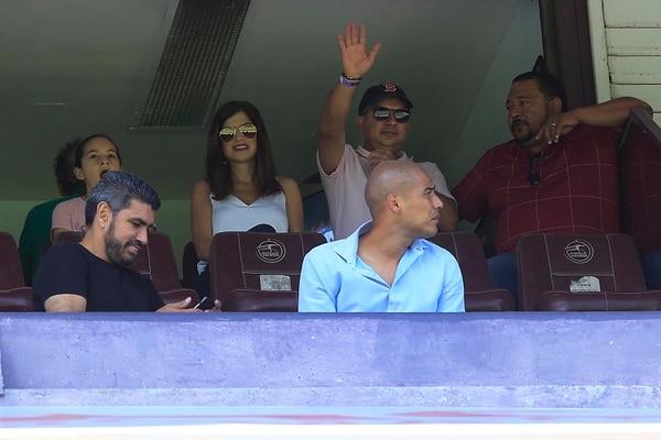 El presi de la Fede ha estado visitando algunos estadios, ahora deberá ir a explicar todo en el Registro. Foto: Rafael Pacheco