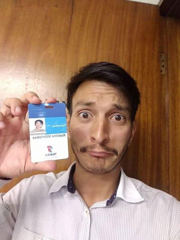 Rodrigo Villalobos fue despedido este año de Buen Día y decidió dedicarse a la comedia. Foto: Facebook.